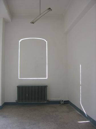 """""""Attraverso"""",2006,installation site-specific"""