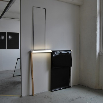 Hackney Wick_Open studio,2013 - Reflections