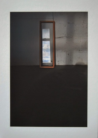 """When inside is still dark night"" giclee print on Hahnemuhle Museum paper,(framed)"