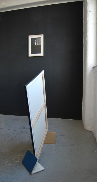 """Still suspended"", canvas, sketch books"