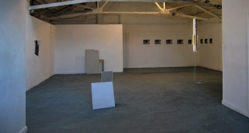 """Exhibition view """"Between the day and night"""",Mother Space Project Gallery_White Post Lane, Hachkney Wick,London"""