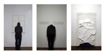 """Attese""2010, (triptych),Lambda print on dibont_cm.50x35 (each),framed"