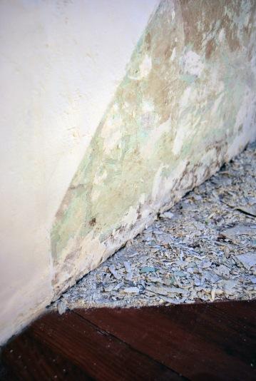 Without a title (from: Propagazione della luce all'interno del mio studio)_2008,10, Detail