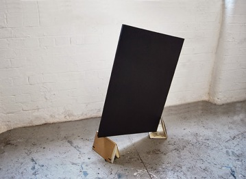"""Still suspended,canvas,sketchbooks,cm""90x70x40"""