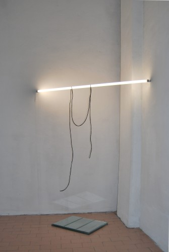 """""""Suspension between the day and night"""",2011,Installation,glasses,light and wax"""