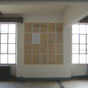 """Untitled"",2008,Intervention on wall"