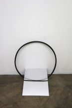 ...then a line is an infinitely large circle (chiaroscuro),2016,giclee print on hahnemuhle photo rag-pearl cm.42x59x4