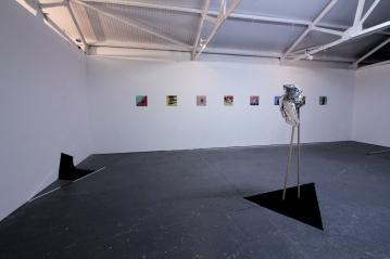 Installation view, Interlude, 2016, Gallery Sensei_Peckham,London (Photo: Nicole Smallman)