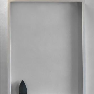 Incorniciato, cast, framed, cm.60x80x9